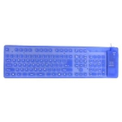 Click to get Bendable Keyboard Blue