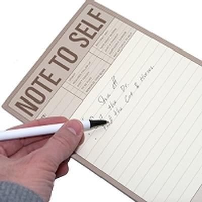 Click to get Large Note to Self Note Pad Large Pad