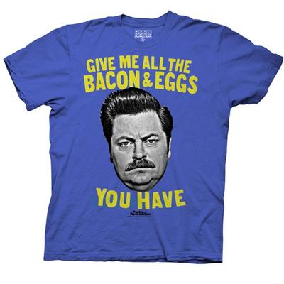 Click to get Parks and Recreation Give Me All The Bacon and Eggs You Have TShirt