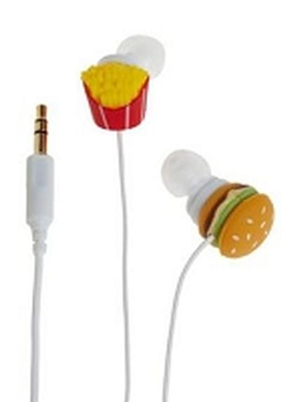 Click to get Fast Food Earbuds