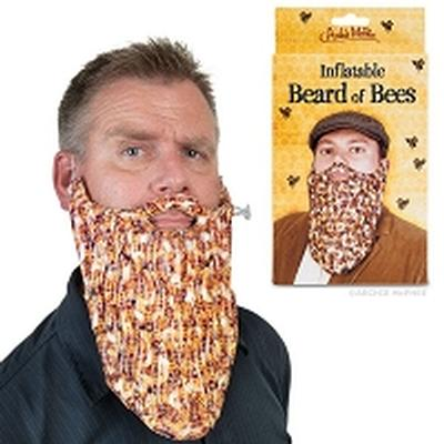 Click to get INFLATABLE BEE BEARD