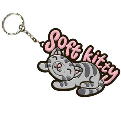 Click to get Big Bang Theory Soft Kitty Keychain
