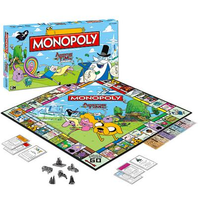 Click to get Adventure Time Monopoly Game
