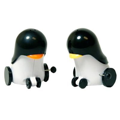 Click to get Rolling Penguins Salt and Pepper Shaker