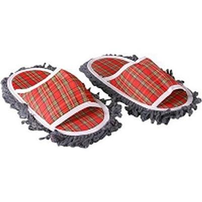 Click to get Plaid Mop Slippers