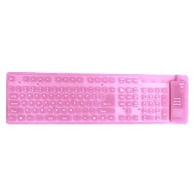 Click to get Bendable Keyboard Pink