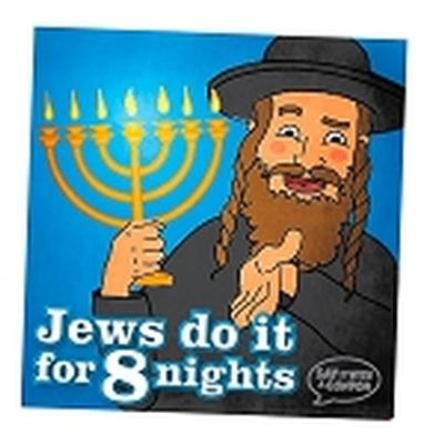 Click to get Jews Do It For 8 Nights Condom