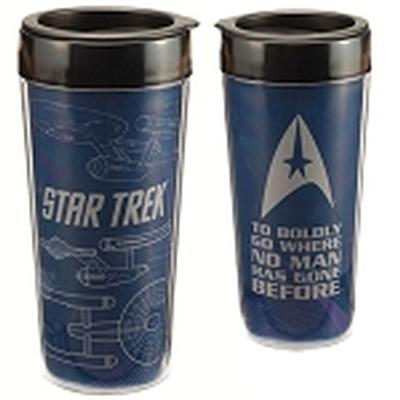 Click to get Star Trek 16 oz Plastic Travel Mug