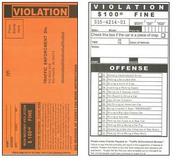 blank parking ticket template - RalfSilva1's blog