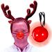 Flashing Red Reindeer Nose