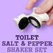 Toilet Bowl Salt & Pepper Shakers
