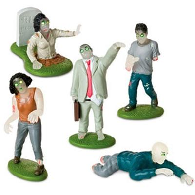 Click to get GlowInTheDark Flesh Eating Zombies Playset